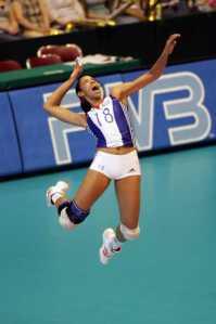 Volleyball Team Drills - Serving