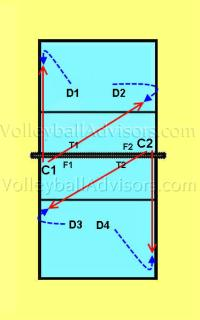 volleyball digging drills