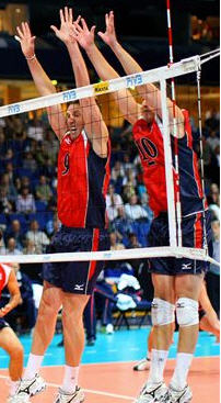 Volleyball Blocking Drills - Read the Hitter, Footwork