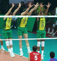 volleyball strategies in blocking