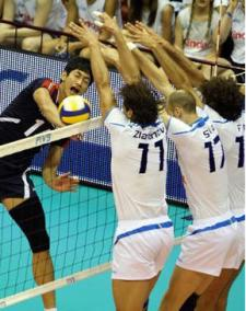 Volleyball Blocking Drills - Blocking Line and Blocking Angle