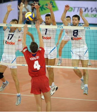 Volleyball Defence Terms - Blocking