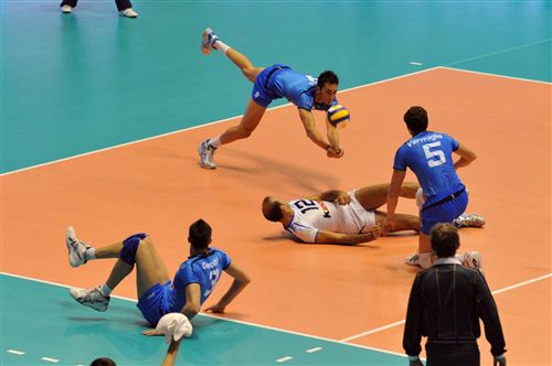 6 Volleyball Positions