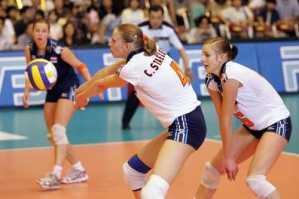 Volleyball Team Drills - Serve Receive
