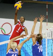 famous volleyball players yumilka ruiz cuba vertical jump