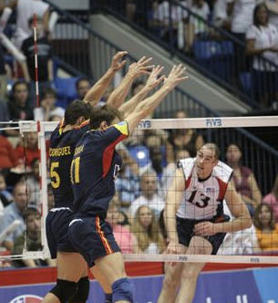 Volleyball Blocking Drills - Line Block