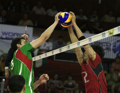 Volleyball Blocking Drills - for the middle blocker
