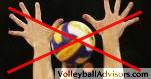 volleyball blocking techniques hand position