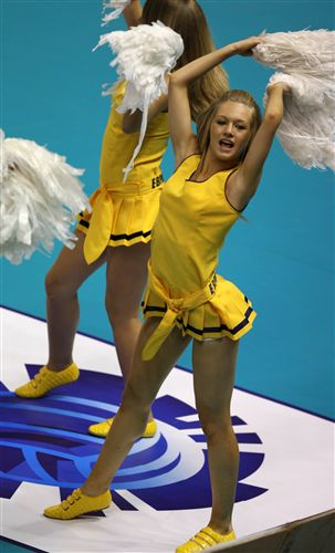 Volleyball Cheerleader