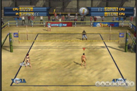 volleyball game xbox outlaw volleyball