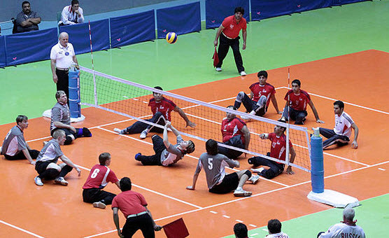 Volleyball Games - Sitting Volleyball