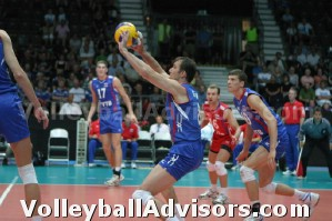 Volleyball Overhead Serve Receive
