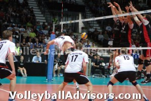 Volleyball Practice Drills - learning teamwork through coverage
