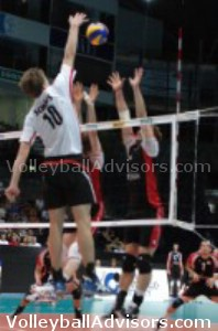 Volleyball Spiking