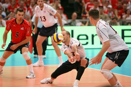 Volleyball Terminology - Passing - Overlappink