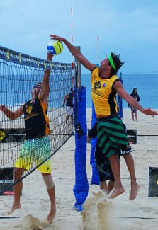 Volleyball Terms - Blocking - Kong Block