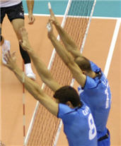 Volleyball Terms - Blocking - Tuna