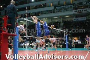 blocking in volleyball communication