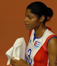 famous volleyball players Nancy Carrillo from Cuba
