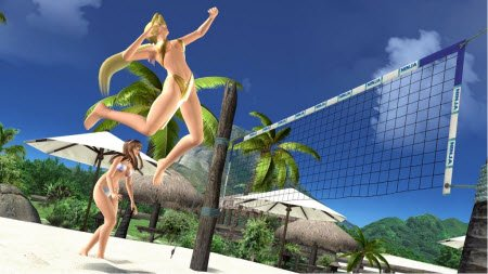 volleyball game xbox dead or alive xtreme beach volleyball