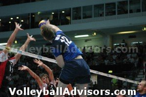 Volleyball Hitting Terms - Outside Shoot