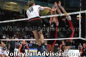 Volleyball Positions - Right Side Hitter - Position 2