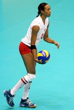 Volleyball Strategies - Serving Jump Serve