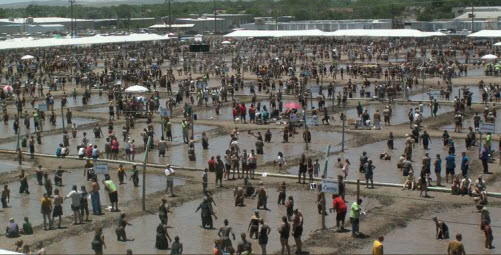 Volleyball Tournaments - Mud Volleyball